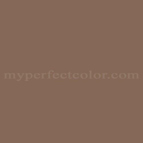 Color Match Of Behr N190 6 Nut Brown