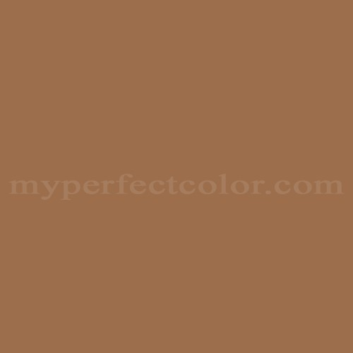 Color Match Of Behr S240 6 Ranch Brown