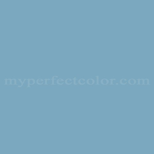 Color Match Of Glidden Wgb17 Country House Blue