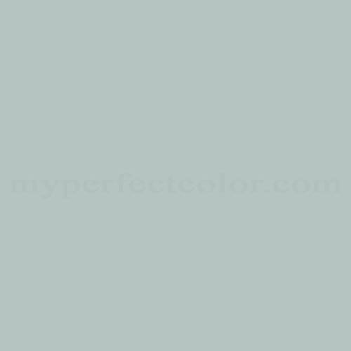 Glidden Wgn45 Icy Teal Myperfectcolor