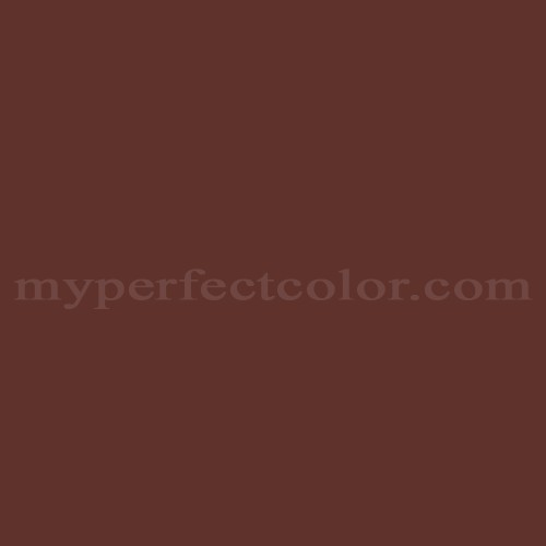 Color Match Of Mccormick Paints 225 Old Colonial Red