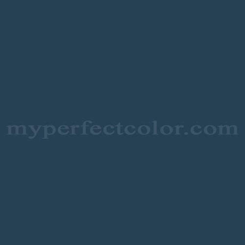 Color Match Of Valspar M318 Blue Dusk