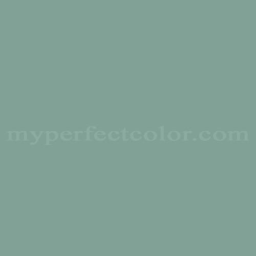 Color Match Of Williamsburg Cw507 Apothecary Blue Medium Light