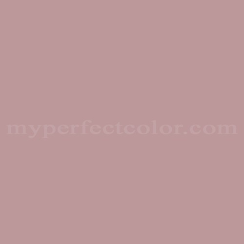 Color Match Of Coronado Paints C 5020 Goodnight Pink