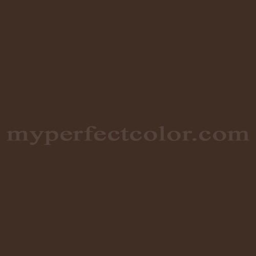 Color Match Of Coronado Paints 178 Oxford Brown