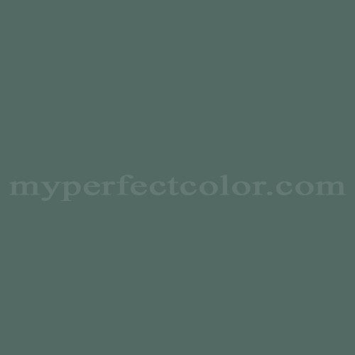 Color Match Of Gentek 522 Ivy Green
