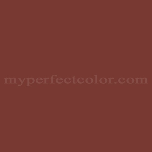 Color Match Of Behr Ppu2 2 Red Pepper