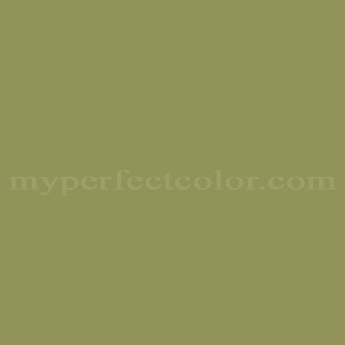 Match of Coronado Paints™ 7718 Jean's Greens *