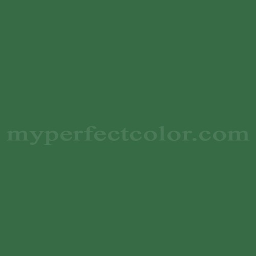 Match of Dal Worth Paints™ A-82C Banker's Green *