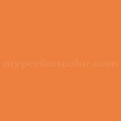 Match of PPG Pittsburgh Paints™ 7217 Jack O'lantern *