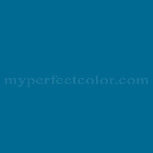 Match of Pratt and Lambert™ 1244 Lambert's Blue *