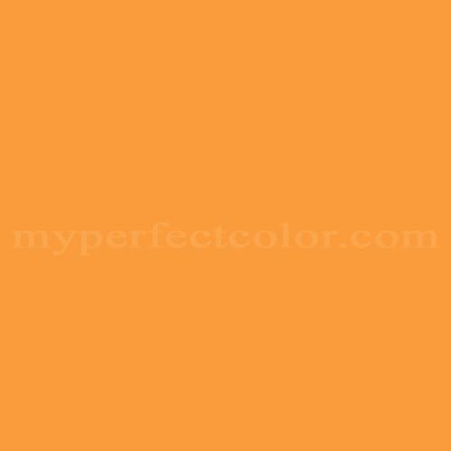 Match of Pratt and Lambert™ 131E Aidan's Orange *