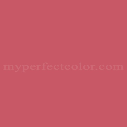 Match of Richard's Paint™ 2077-A Scarlet Rose *