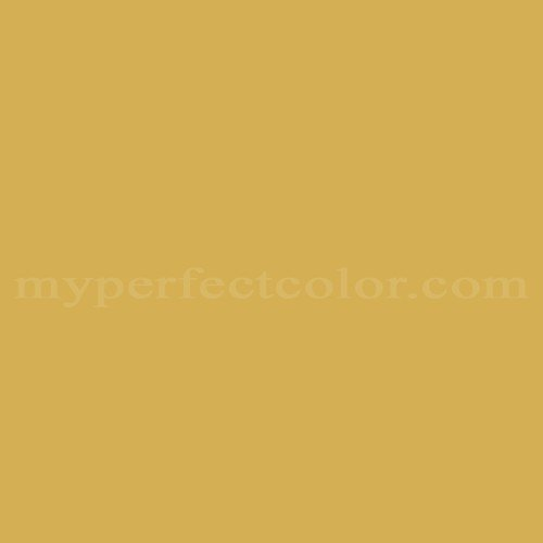 Match of Richard's Paint™ 2487-A Gold Plate *