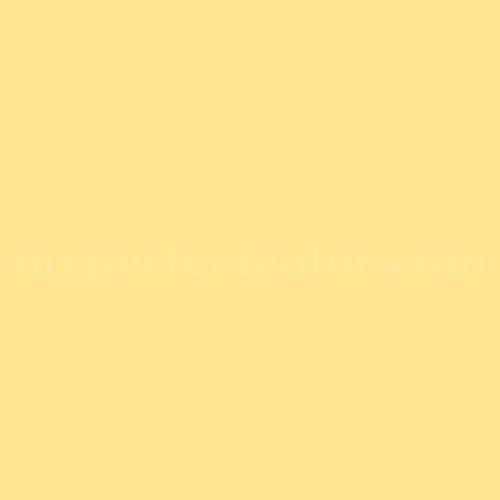 Match of Richard's Paint™ 2504-T Pale Dandelion *