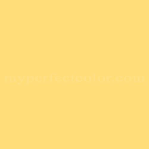 Match of Richard's Paint™ 2505-D Lemon Cream *