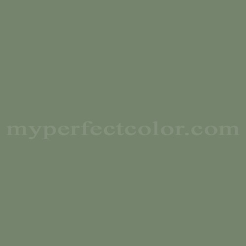 Match of Richard's Paint™ 2657-D Cottage Green *