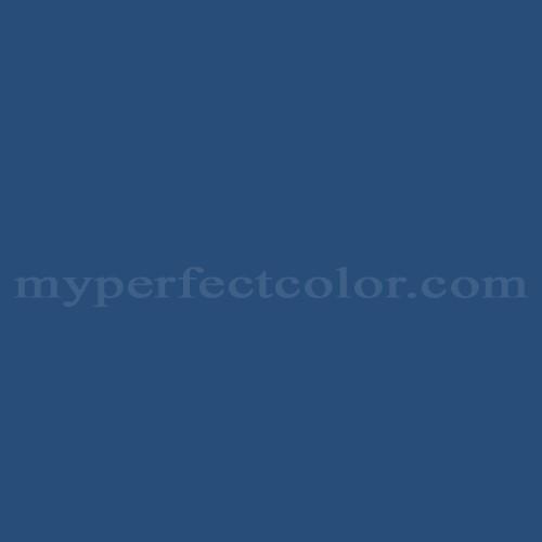 Match of Richard's Paint™ 2968-A Blue Thunder *