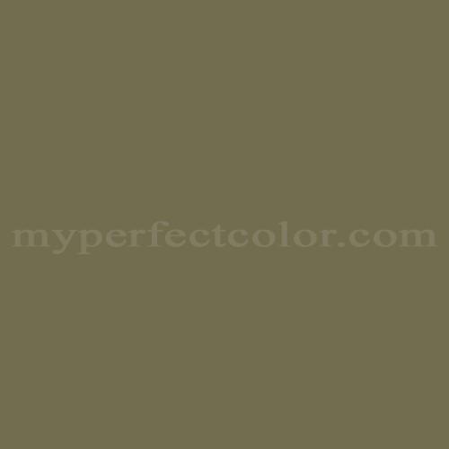Match of Richard's Paint™ 3468-A Olive Garden *