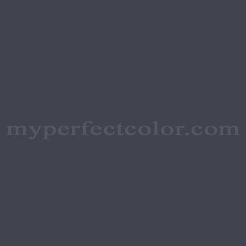 Match of Richard's Paint™ 3648-A Black Tie *