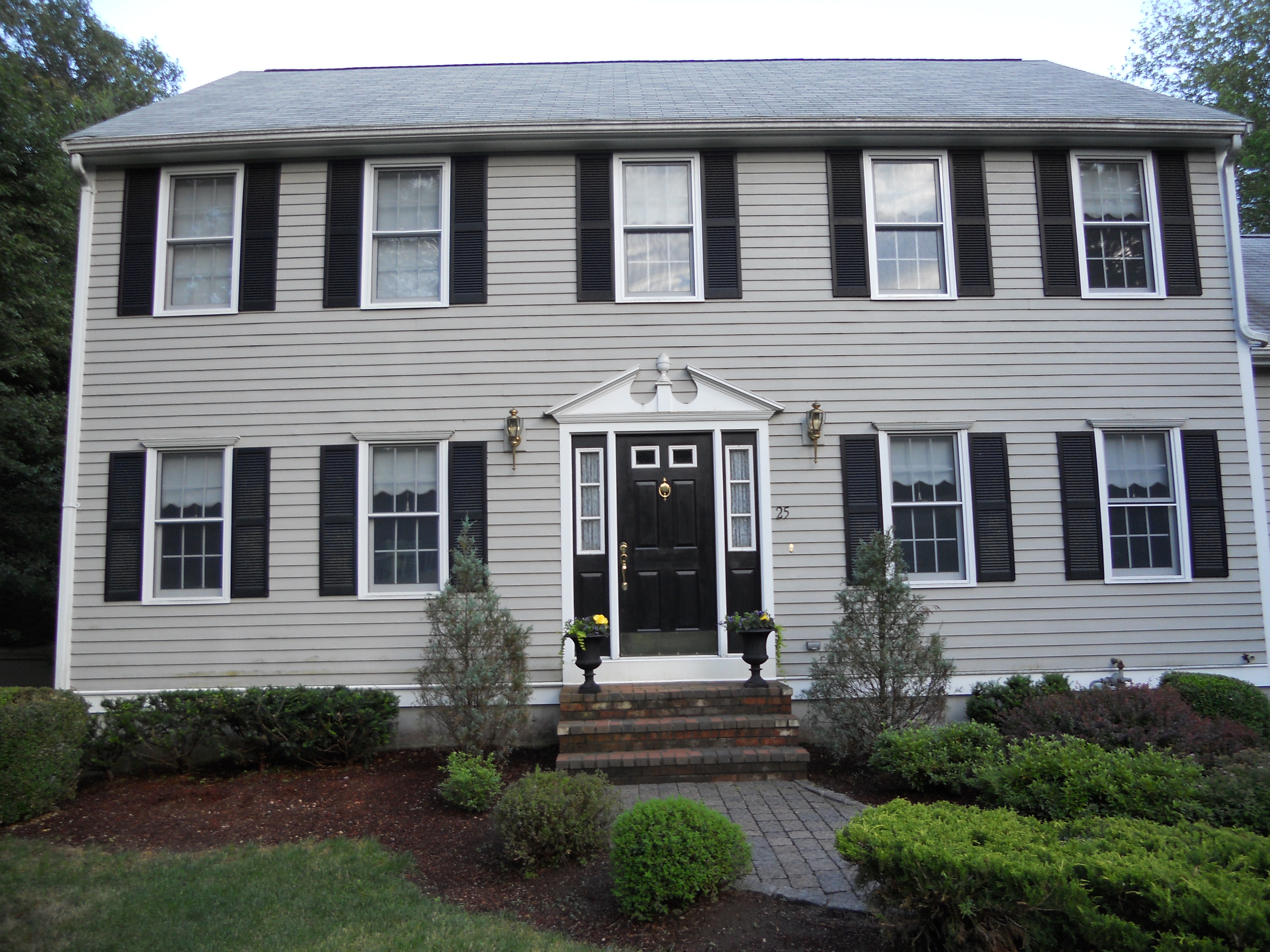 Benjamin Moore Rockport Gray Exterior Paint Home Painting