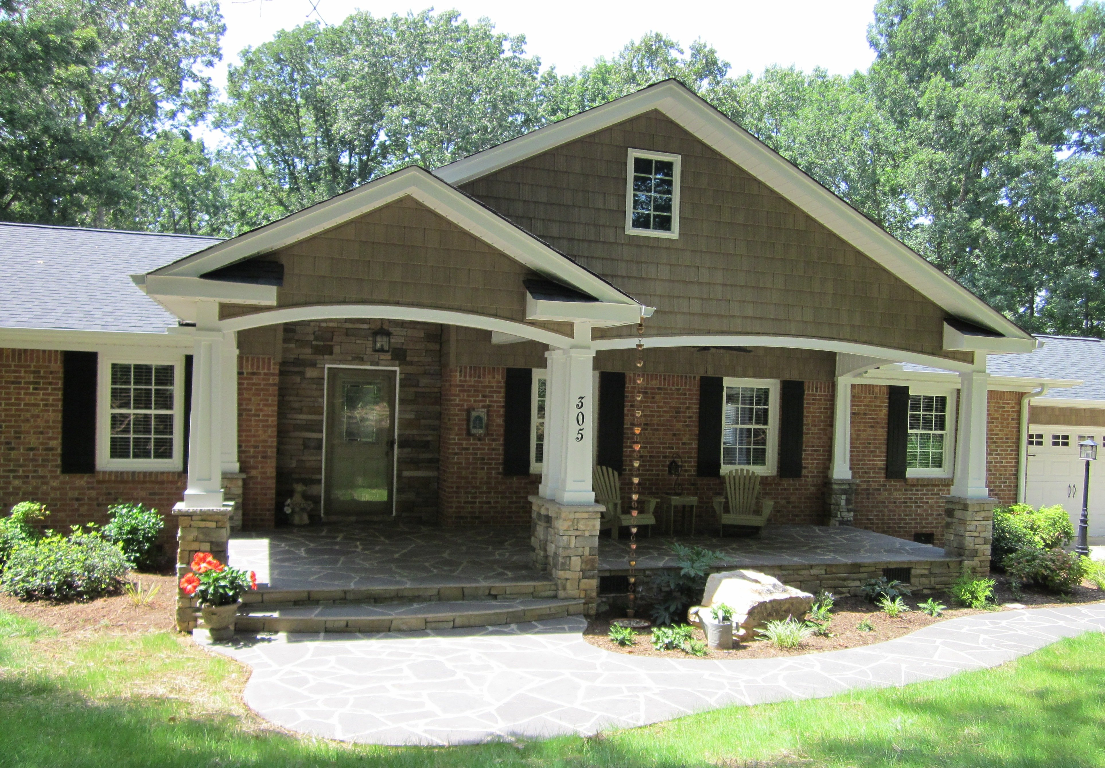 Door Color For Brick House Spring Home Projects Painting The