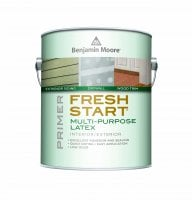Benjamin Moore™ 023 Fresh Start 100% Interior/Exterior Acrylic Primer (Quarts, Gallons or Fives)
