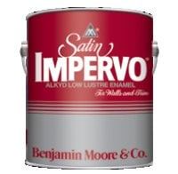 Benjamin Moore™ 235 Alkyd Satin Impervo Satin Finish Paint