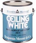 benjamin moore 258 muresco ceiling paint white gallon. Black Bedroom Furniture Sets. Home Design Ideas