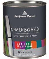 Benjamin Moore ChalkBoard Paint - Quart