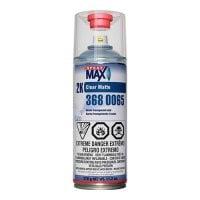 SprayMax® 3680065 2K Clear Coat, 11.8 oz, Matte