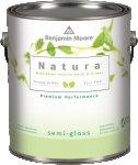 Benjamin Moore™ 514 Natura Zero VOC Interior Waterborne Semi Gloss Finish Paint