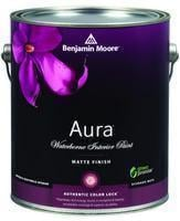 Benjamin Moore™ 522 Aura Waterborne Interior Matte Finish Paint (Quarts, Gallons or Fives)