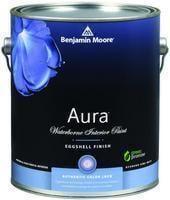 Benjamin Moore™ 524 Aura Waterborne Interior Eggshell Finish Paint