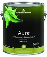 Benjamin Moore™ 528 Aura Waterborne Interior Semi Gloss Finish Paint (Quarts, Gallons or Fives)