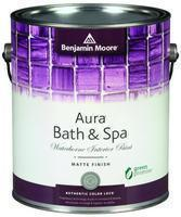 Benjamin Moore™ 532 Aura Waterborne Interior Bath  Spa Matte Finish Paint (Quarts or Gallons)