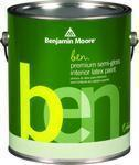Benjamin Moore™ 627 Ben Waterborne Interior Semi Gloss Finish Paint