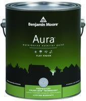 Benjamin Moore™ 629 Aura Waterborne Exterior Flat Finish Paint (Quarts, Gallons or Fives)