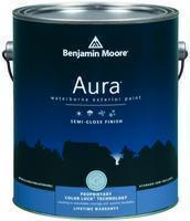 Benjamin Moore™ 632 Aura Waterborne Exterior Semi Gloss Finish Paint (Quarts, Gallons or Fives)
