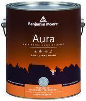 Benjamin Moore™ 634 Aura Waterborne Exterior Low Lustre Finish Paint (Quarts, Gallons or Fives)