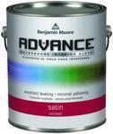 Benjamin Moore™ 792 Advance Waterborne Alkyd Interior Satin Finish Paint