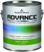 Benjamin Moore™ 793 Advance Waterborne Alkyd Interior Semi Gloss Finish Paint