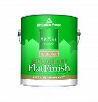 Benjamin Moore™ W105 Regal Select Moorlife Exterior Flat (Quarts, Gallons or Fives)