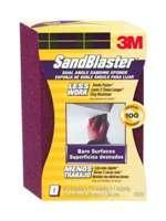 3m Sandblaster Sanding Sponge Angled 100-Grit (Bare Surfaces)
