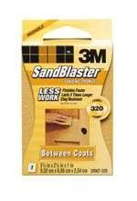 3m Sandblaster Sanding Sponge 320-Grit (Between Coats)