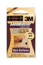 3m Sandblaster Sanding Sponge 80-Grit (Bare Surfaces)