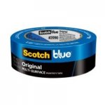 3m 2090 1.5-inch Blue Painters Masking Tape Safe Release