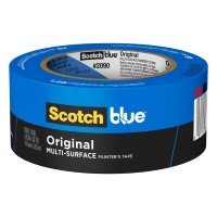 3m 2090 2-inch Blue Painters Masking Tape Safe Release
