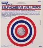 Hyde 4-inch x 4-inch Self Adhesive Wall Patch, Aluminum Backing