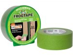 Frog Tape 82031 Pro Painters Masking Tape 2-Inch by 60-Yards, Green